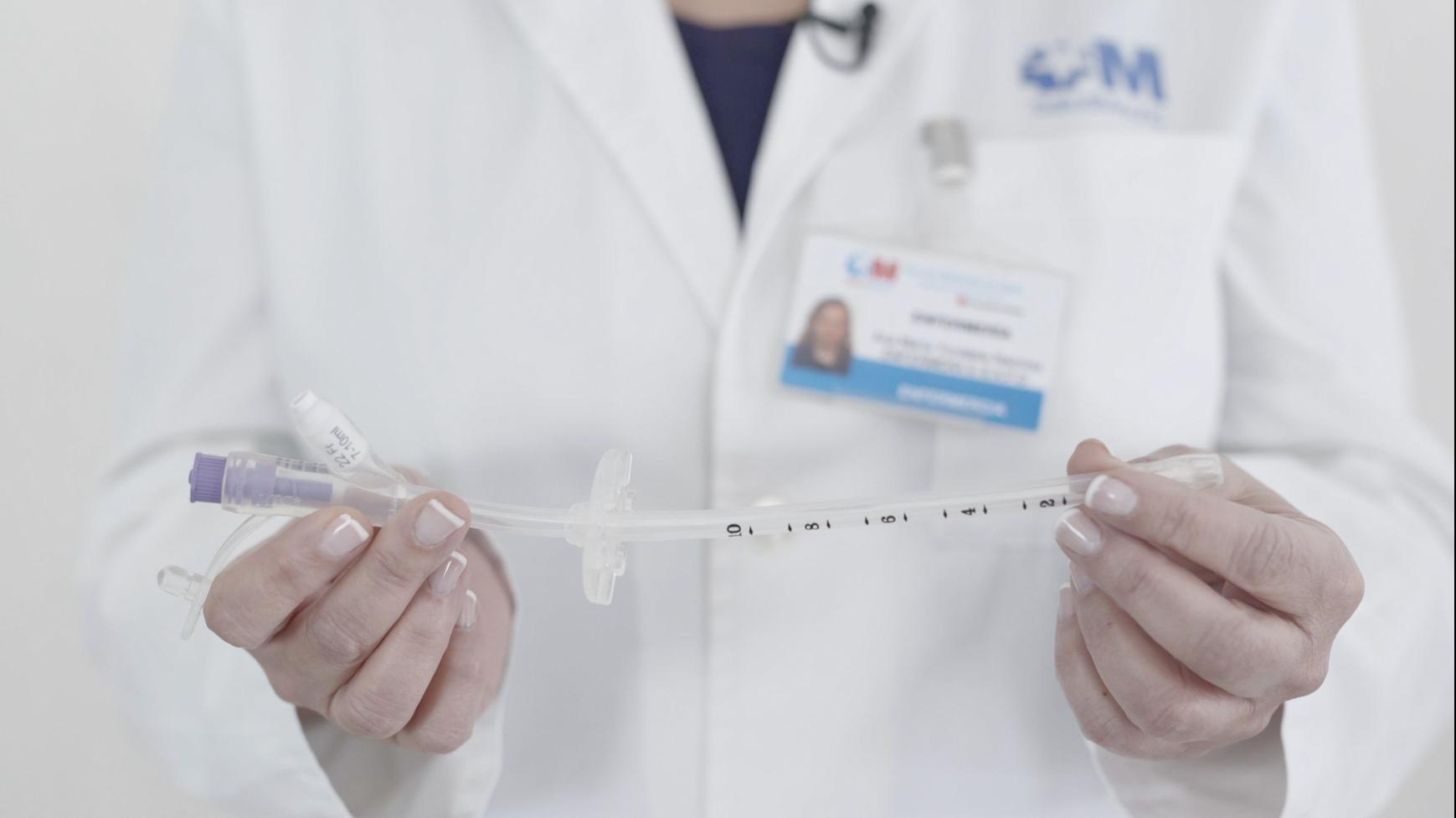 Material multimedia de cuidados del paciente portador de una sonda de gastrostomía