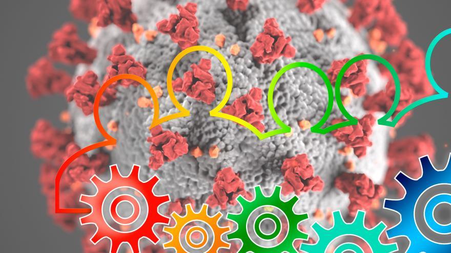 Material educativo escrito para el manejo de diferentes enfermedades en combinación con COVID-19