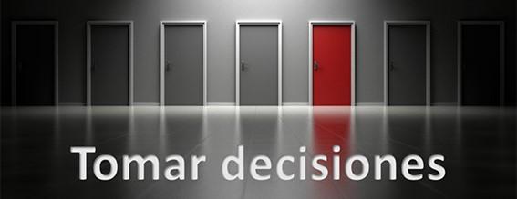 Tomar decisiones