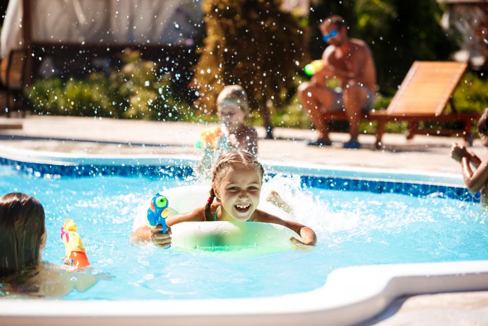 En la piscina disfruta con seguridad