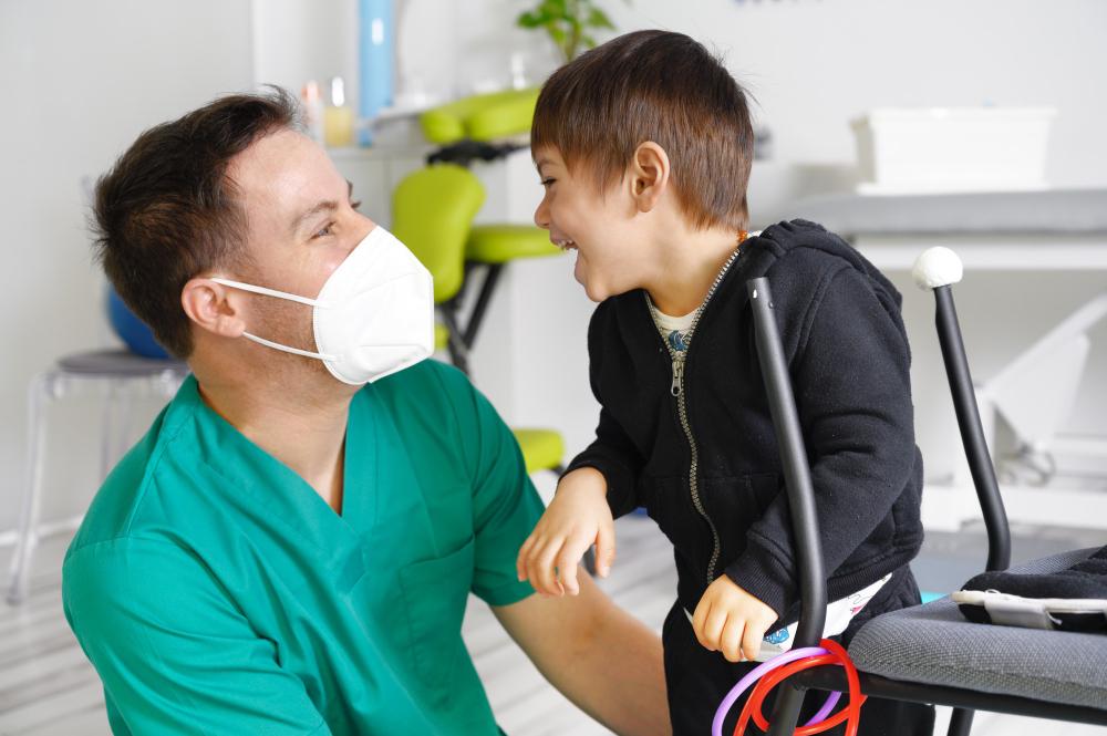Favorecer una buena postura para niños con daño cerebral adquirido