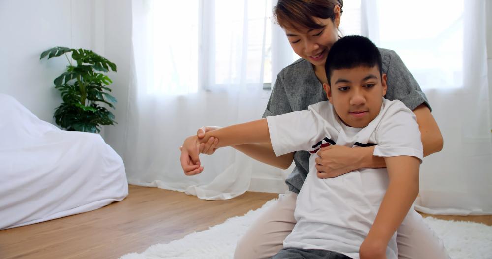 Mejorar la respiración en niños con daño cerebral adquirido